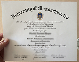 buy University of Massachusetts fake degree, UMass diploma order