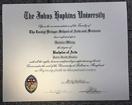 buy Johns Hopkins University(JHU) fake degree,fake diploma in Washington