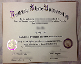 purchase Kansas State University(KSU) fake degree, buy USA fake diploma