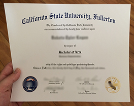 purchase California State University Fullerton(CSUF) fake degree in Houston
