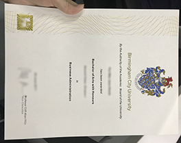 Birmingham City University degree sample, purchase fake diploma in Korea