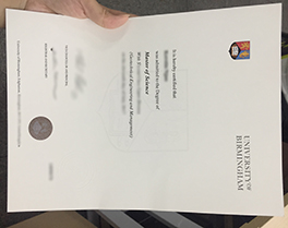 University of Birmingham certificate for sale, buy fake degree in Taiwan