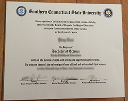 Southern Connecticut State University fake degree for sale