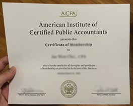 how safety to buy AICPA fake certificate, buy US fake diploma