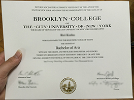 CUNY - Brooklyn College diploma for sale, study at Brooklyn
