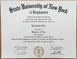 how to obtain Binghamton University(SUNY-Binghamton) fake diploma,