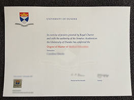 buy best University of Dundee fake diploma, UoD degree sample