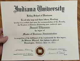 obtain Kelley fake diploma, study at Indiana University, Kelley School of Busines