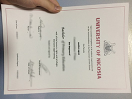 University of Nicosia fake diploma for sale