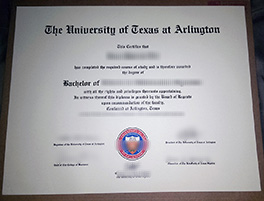University of Texas at Arlington fake diploma order