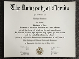 University of Florida fake diploma order