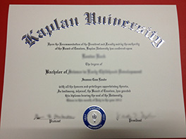 make Kaplan University fake diploma