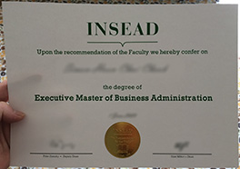 INSEAD fake diploma for sale