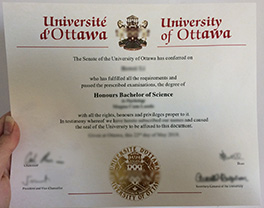 make University of Ottawa fake diploma in Canada