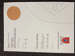 fake Australian Catholic University(ACU) diploma sample