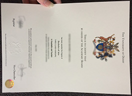University of Derby diploma sample