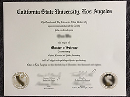 purchase California State University, Los Angeles diploma