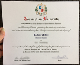 buy fake diploma from Assumption University