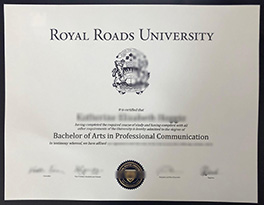 obtain Royal Roads University fake diploma