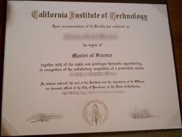 Fake California Institute of Technology Diploma For Sale