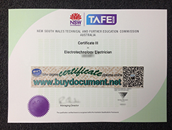How to Buy NSW TAFE Certificate, TAFE NSW Institute
