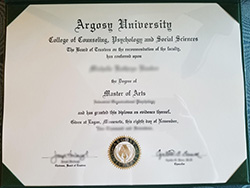 Where to Buy Fake Argosy University Diploma?