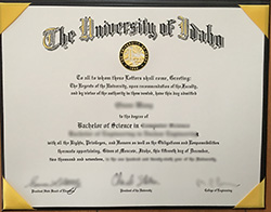 How to Buy Fake University of Idaho Diploma?
