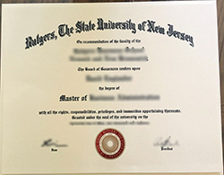 How to Buy Fake Rutgers University Diploma