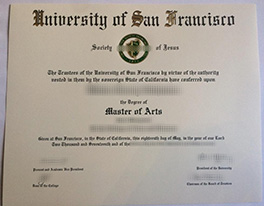 Buy a Fake University of San Francisco Degree From a Real University