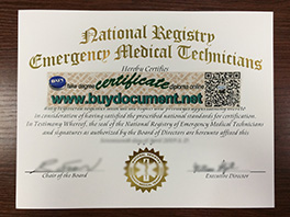 Where Can I Buy Fake NREMT Certificate Online?