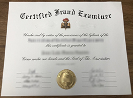 How To Get A Certified Fraud Examiner Fake Certificate