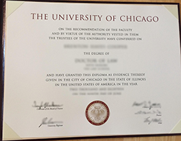 How to Buy University of Chicago Fake Diploma&Transcript