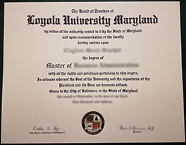 Where to Purchase Fake Loyola University Maryland Diploma