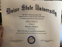How to Buy Fake Boise State University Diploma&Transcript