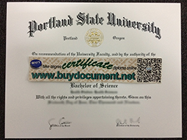 Where to Purchase Portland State University (PSU) Fake Diploma