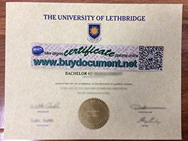Buy Fake University of Lethbridge Diploma in Canada, fake degree