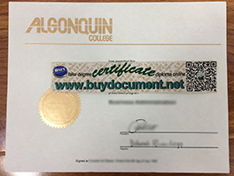 How to Buy Fake Algonquin College Diploma Online?