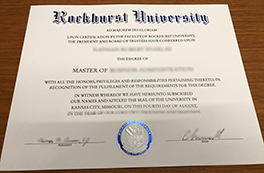 Where to Order Fake Rockhurst University Degree Certificate?