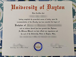 Where to Order University of Dayton Fake Degree