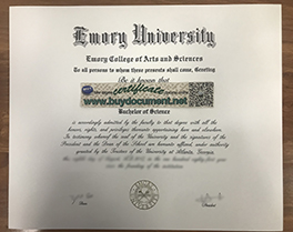 How to Buy Fake Emory University Diploma Transcript