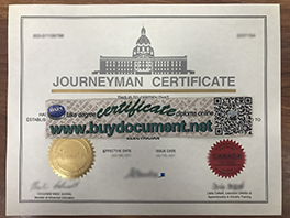 How to get a fake Journeyman certificate