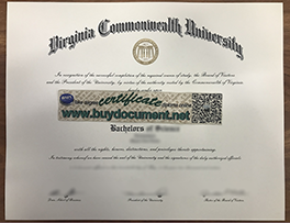 How to Print Fake Virginia Commonwealth University (VCU) Degree 2020