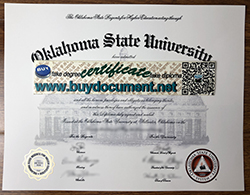 Buy the Oklahoma State University Fake Diploma, OSU Fake Degree