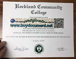 Where Can I Buy A Fake Degree From Rockland Community College?