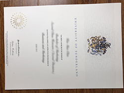 Where To Make University of Sunderland Fake Diploma?