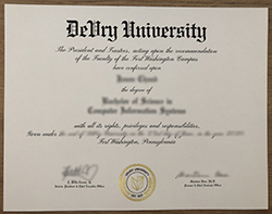 I Would Like To Buy A Fake Degree From DeVry University.