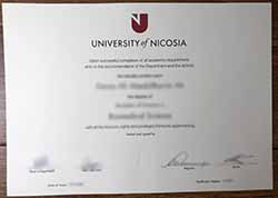 How Much Does It Cost To Fake Degree Certificate From The University of Nicosia(U