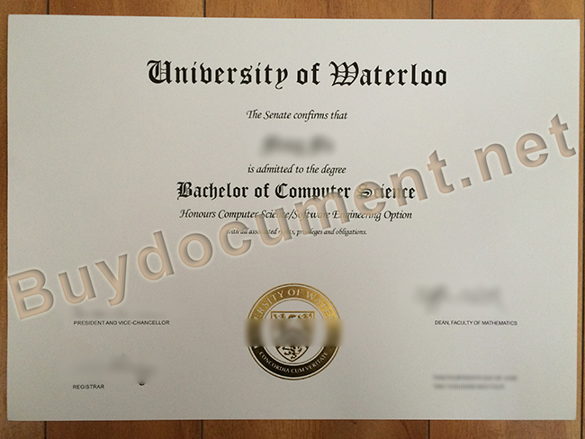 fake University of Waterloo degree, fake University of Waterloo diploma