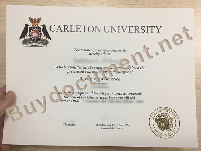 fake Carleton University degree, Carleton University diploma sample