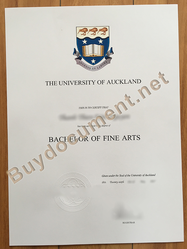 fake University of Auckland diploma, University of Auckland degree